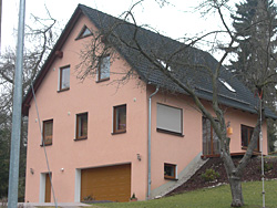 Familie Schütz in Berga